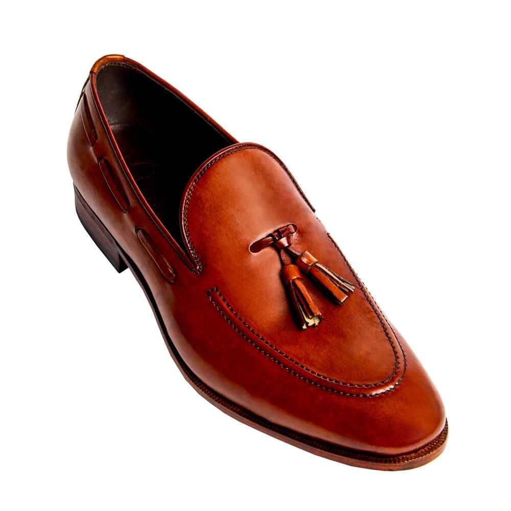 Sapato Masculino Tassel Loafer cor Avelã 1090RSAVE
