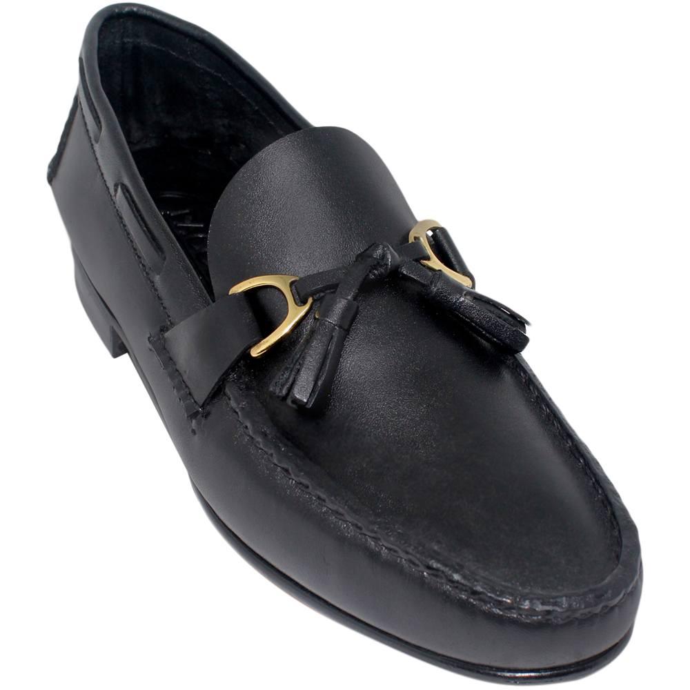 Sapato Masculino Mocassim cor Preto 066PGPRE