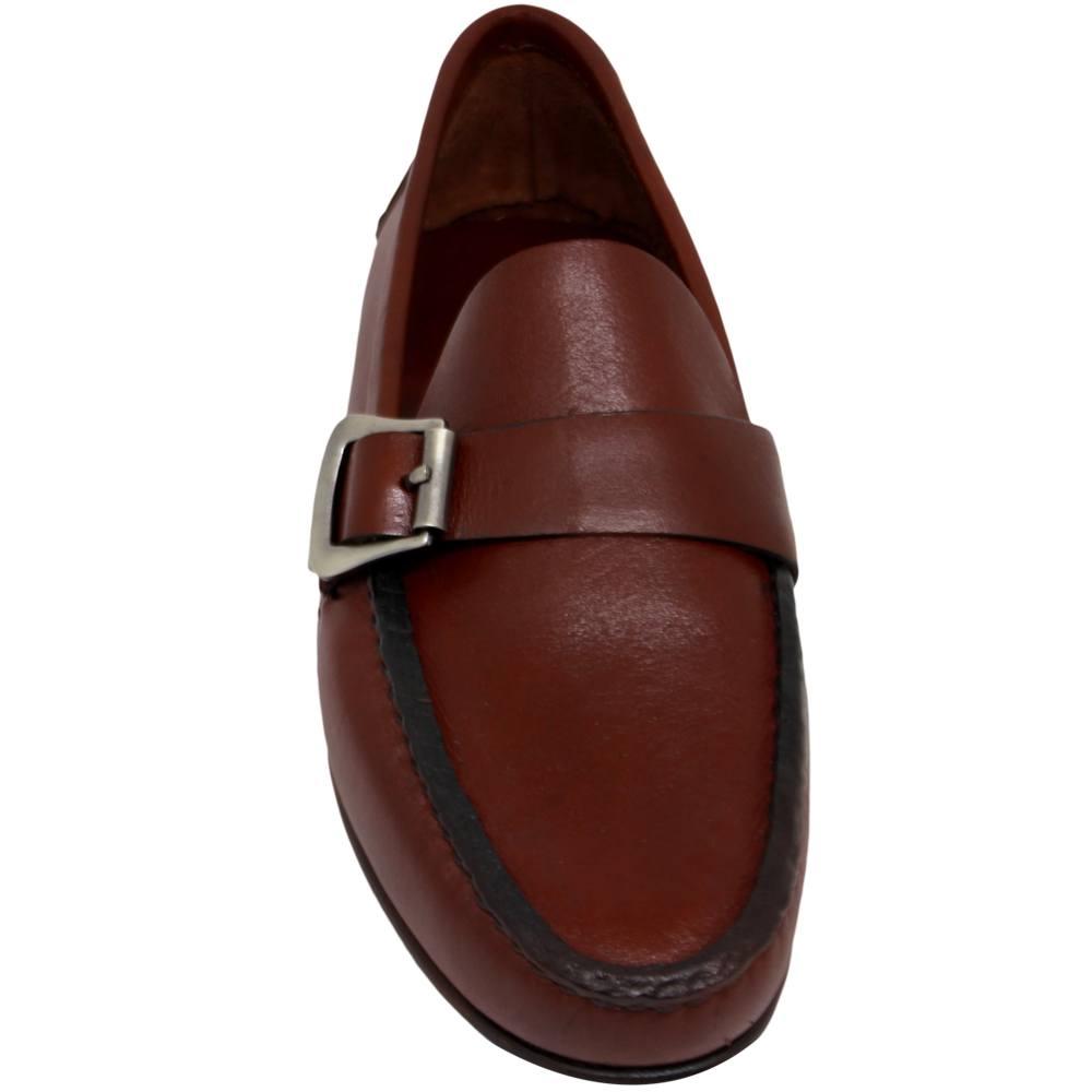 Sapato Mocassim Argentino cor Pinhão 066FNPIN