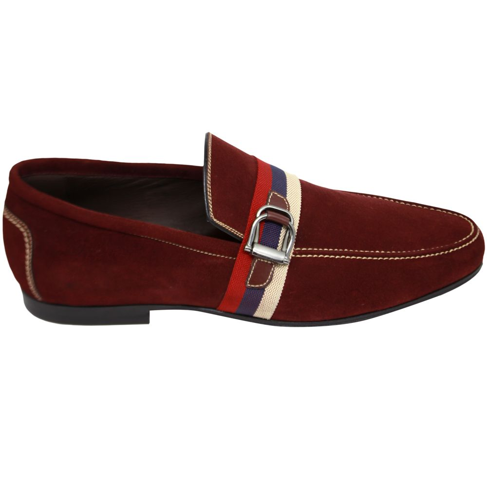 Sapato Masculino Mocassim Casual cor Merlot 111MERLOT