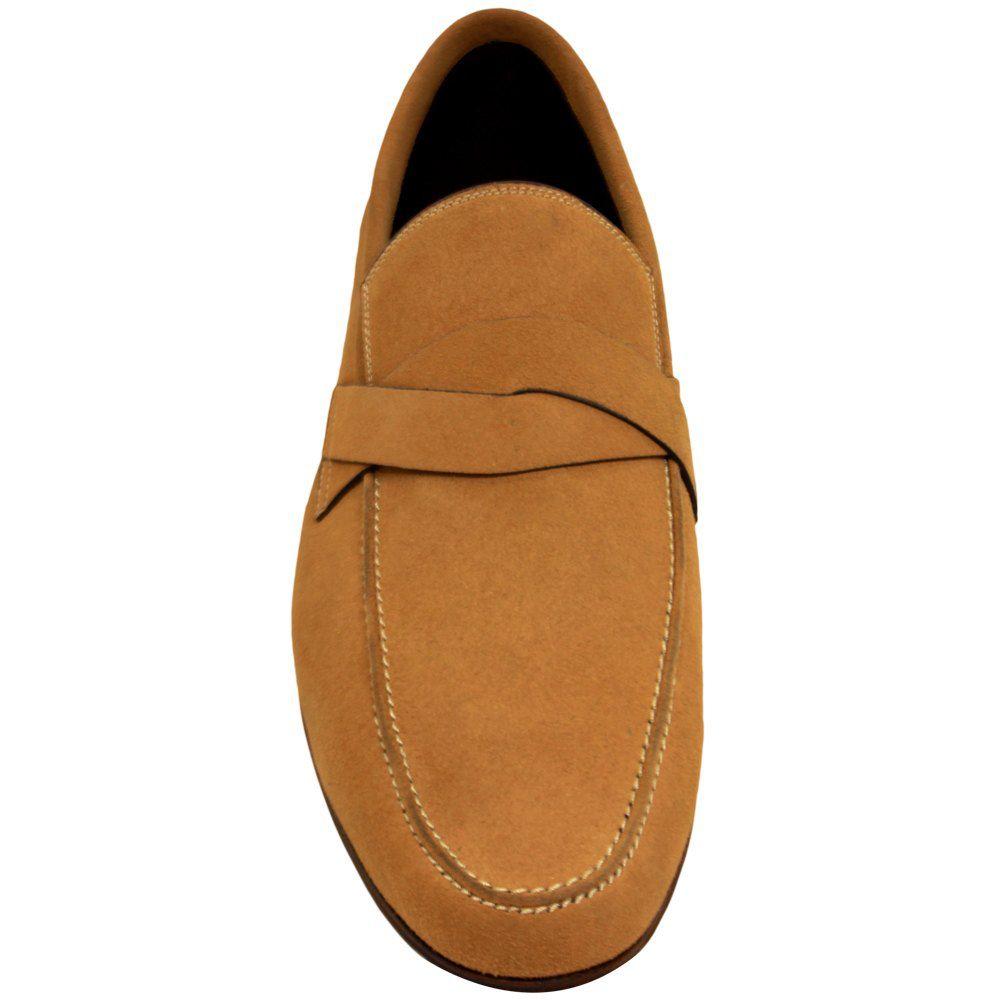 Sapato Masculino Mocassim Casual cor Damasco 111DAMASCO