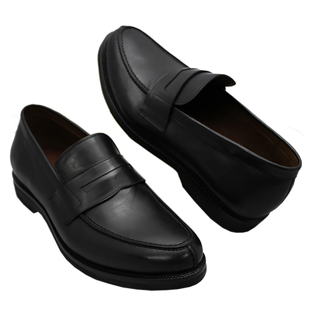Sapato Masculino Social Penny Loafer Preto 900MPRE