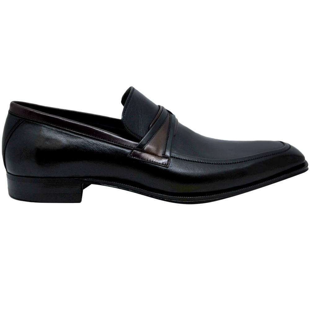Sapato Social Exclusividade Pacco cor Preto 840PRE