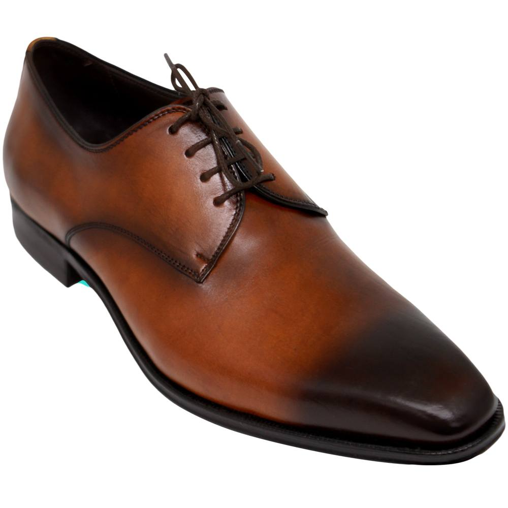 Sapato Masculino Derby Plain Toe Acabamento Patina  303LPATHAV