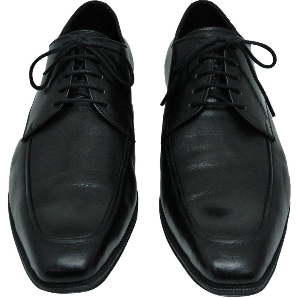 Sapato Masculino Social Derby Preto ótimo para o dia a dia 311PRE