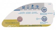 Adesivo Painel Lavadora Consul CWC22A 5kg