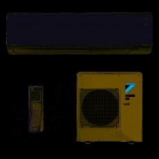 Ar Condicionado Split Inverter Daikin R-32 32.000 BTUs Quente e Frio R-32 220V