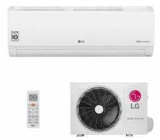 Ar-Condicionado Split HW Inverter LG Dual Voice 12.000 BTUs Quente/Frio 220V