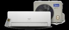 Ar Condicionado Split Inverter Springer Midea 12.000 BTUs Quente e Frio R410A 220V
