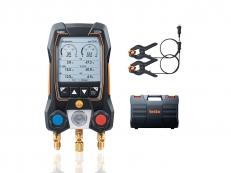 Manifold Digital Inteligente 2 Vias com sondas de pinça Testo 550S