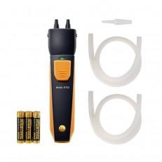 Manômetro para Medição de Pressão Diferencial Operado com Smartphone Testo 510i