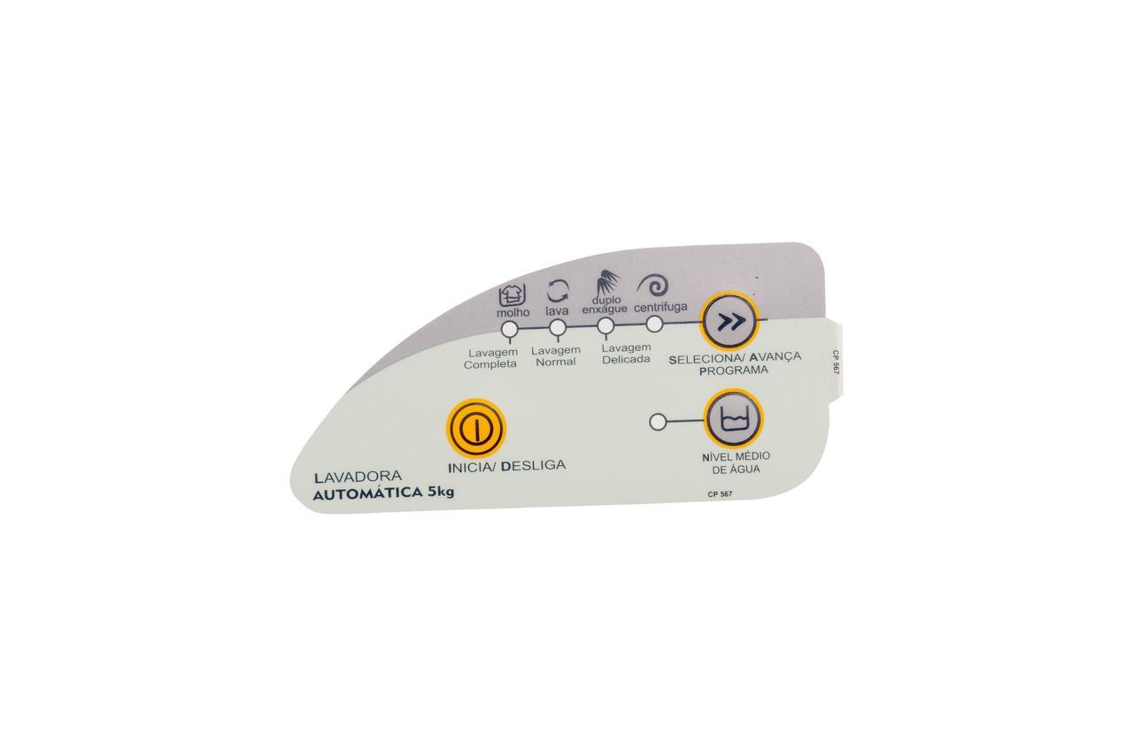 Adesivo Painel Lavadora Consul CWC22B 5kg