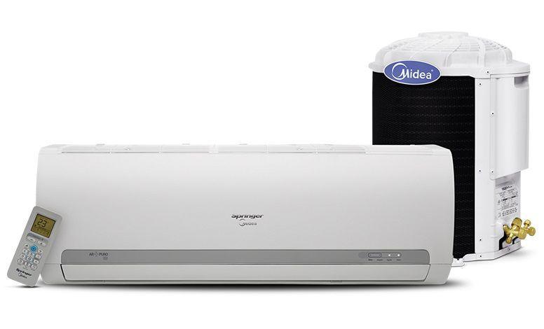 Ar Condicionado Split 9.000 Btus Quente e Frio R410A 220V Springer Midea