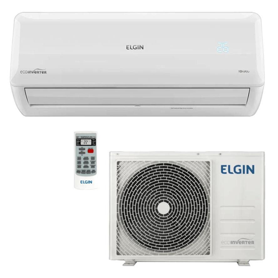 Ar Condicionado Split Inverter Elgin Eco 24.000 BTUs Quente e Frio R410A 220V