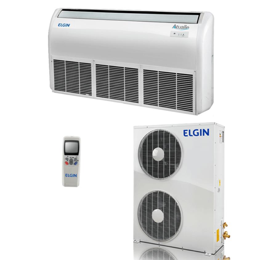 Ar Condicionado Split Piso Teto Eco Elgin 60.000 BTUs Frio 220V Trifásico