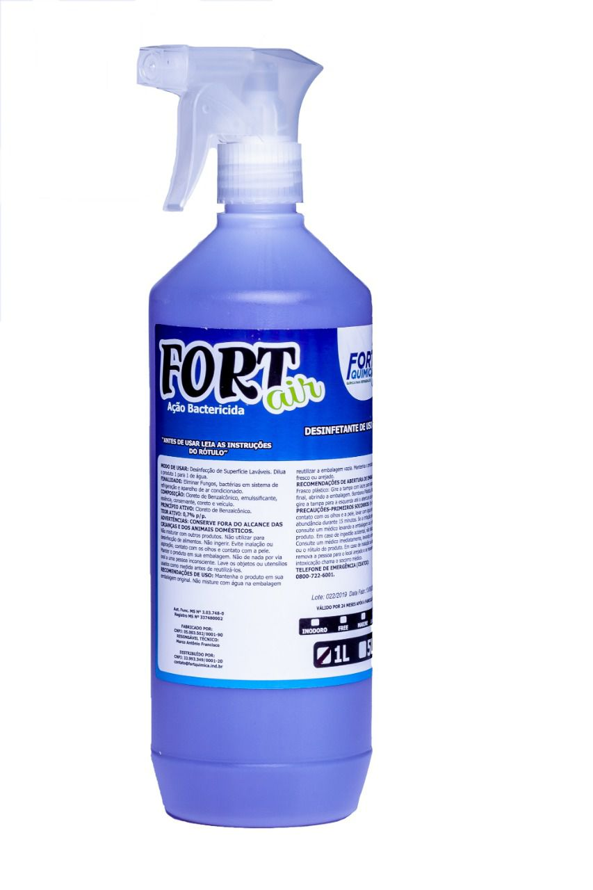 Aroma Bactericida Fort Air Lavanda 1L