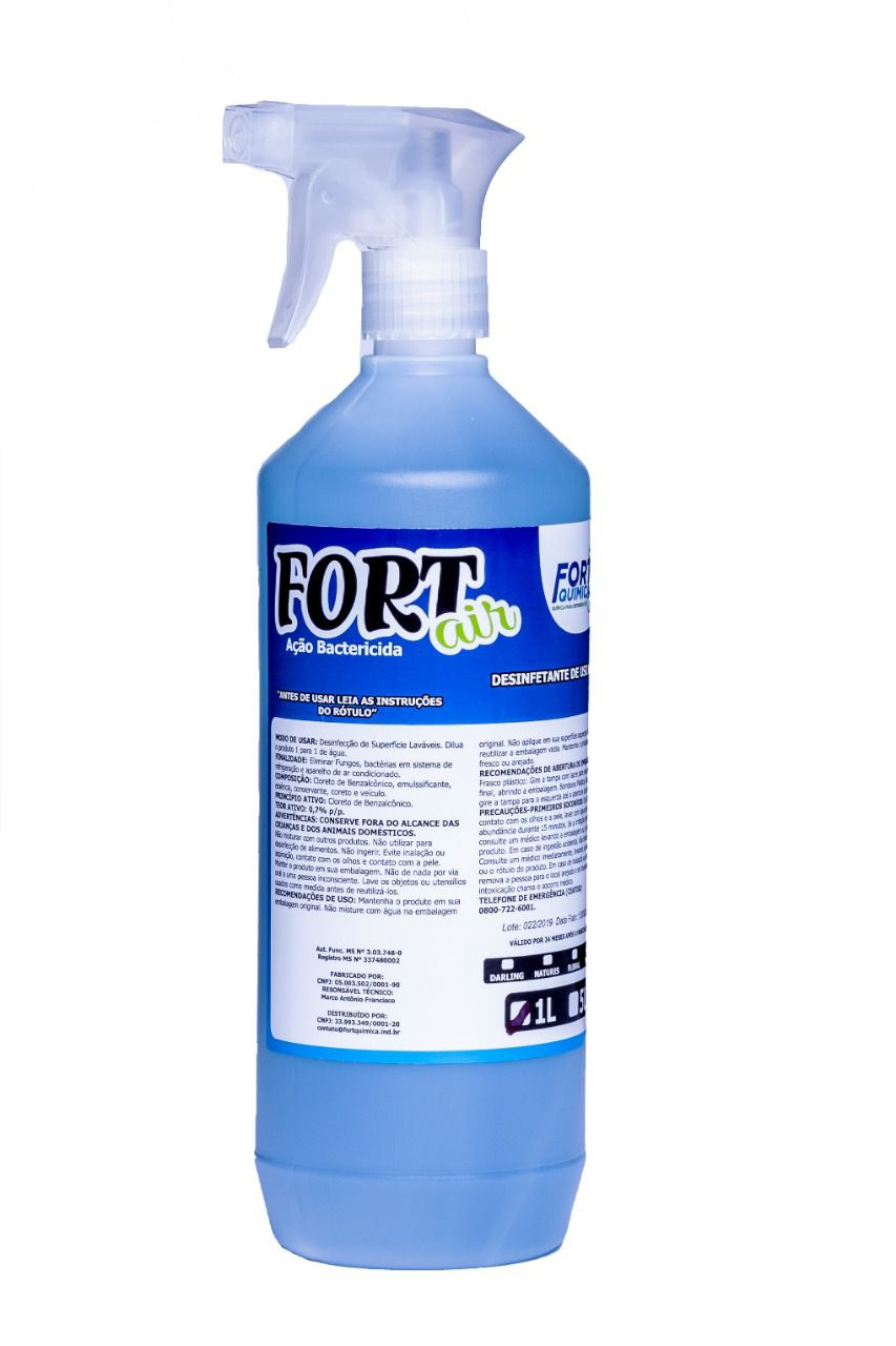 Aroma Bactericida Fort Air Talco 1L