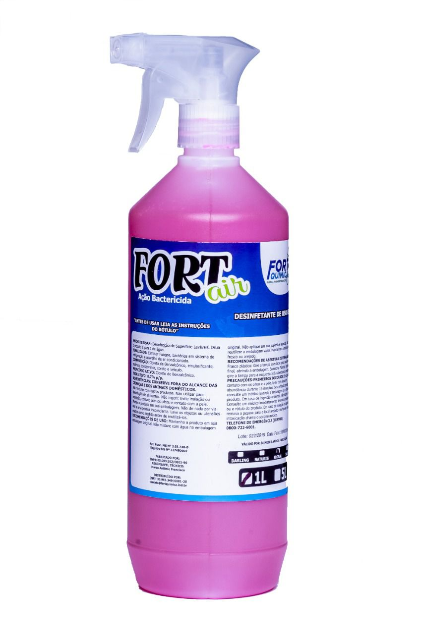 Aroma Bacteridica Fort Air Floral 1L