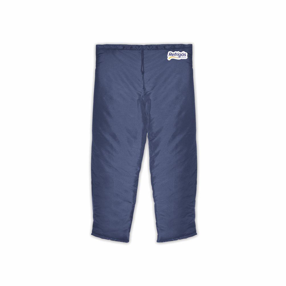 Calça Térmica Para Câmara Frigorífica Azul Tam. G