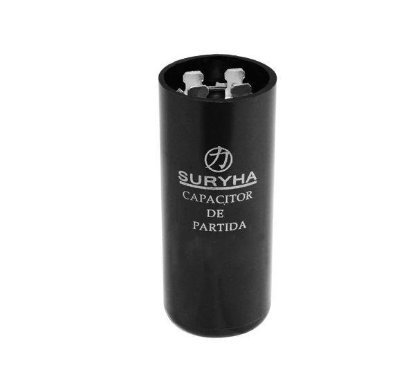 Capacitor de Partida 124-149127V 2 Polos Suryha