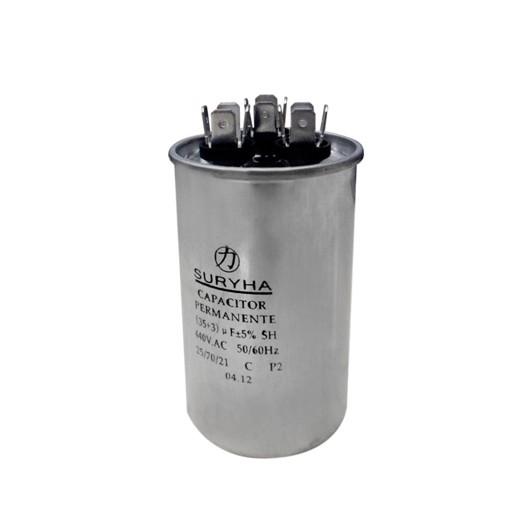 Capacitor Duplo 45+12 MFD 380VAC