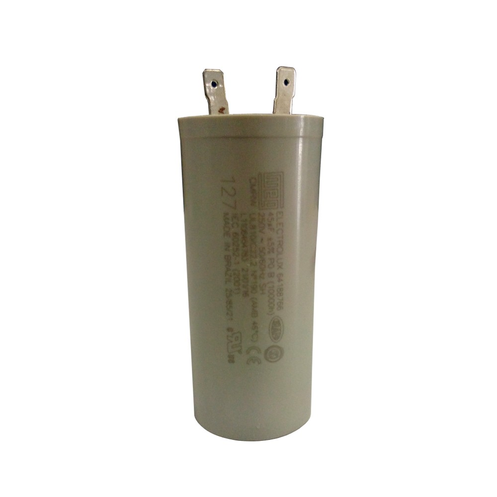 Capacitor para Lavadoras 45MF 110V Electrolux