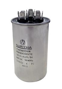Capacitor Permanente 30+4 MFD 440VAC Suryha