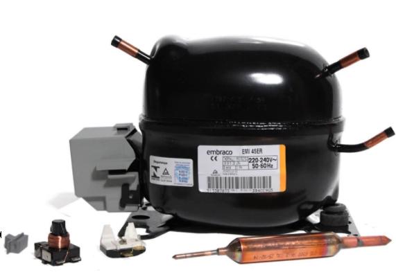 Compressor 1/8 HP R12 EMI45HER 220V Embraco