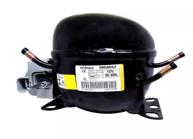 Compressor Embraco 1/5 EM2U60HLP R134A 110V (Sem caixa e sem Filtro)