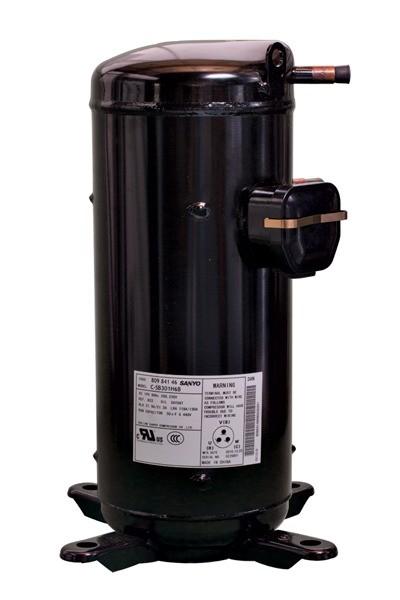 Compressor Scroll 7,5TR C-SB453H6B 220V 3F R22 Sanyo/Panasonic