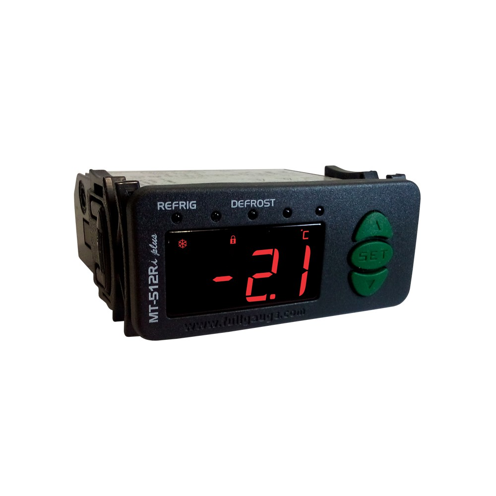 Controlador de Temperatura Digital MT-512E Log Full Gauge