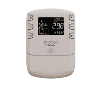 Controlador Digital Microsol Swp Advanced 220v Full Gauge