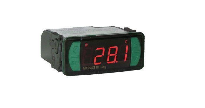 Controlador Digital MT543ELOG 4 Estágios 5 Saídas 12/24V Full Gauge