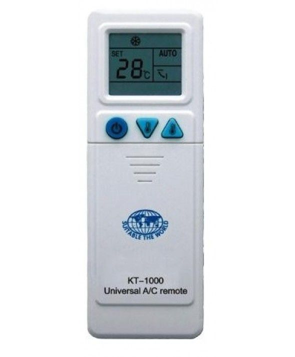 Controle Remoto Universal KT1000 Coldpac