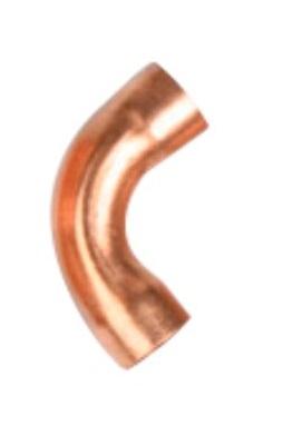 Curva Cobre 180 (Parede 1/32) - 7/8