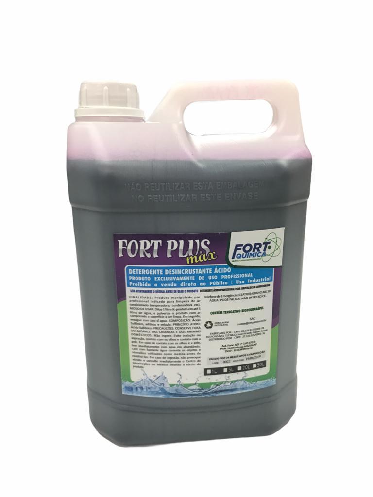 Detergente Desincrustante Fort Plus Max 5 Litros
