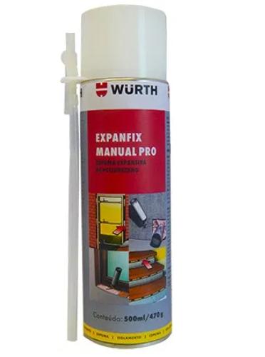 Espuma Poliuretano Expanfix Wurth 500ml/490g