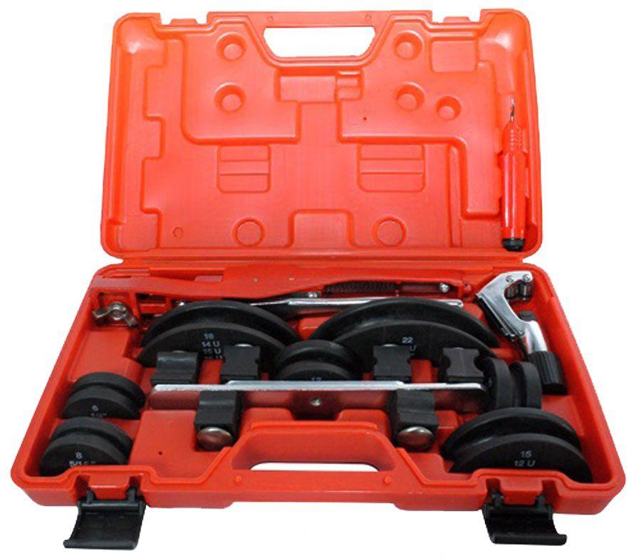 Kit Curvador de Tubo com cortador 1/4 à 7/8 Coldpac