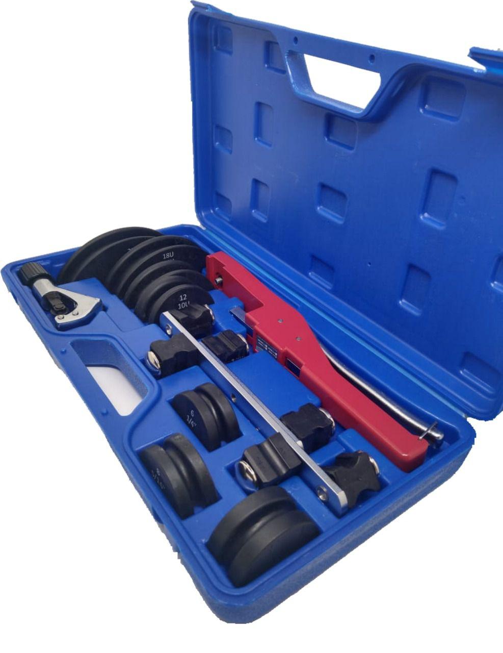 Kit Curvador de Tubo de Cobre com cortador 1/4 à 7/8 Coldpac