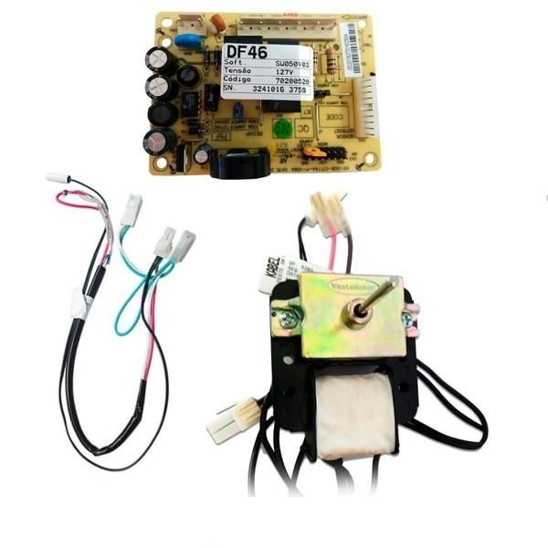 Kit Placa Sensor 110V Original Electrolux DF46 DF49 - 70001453