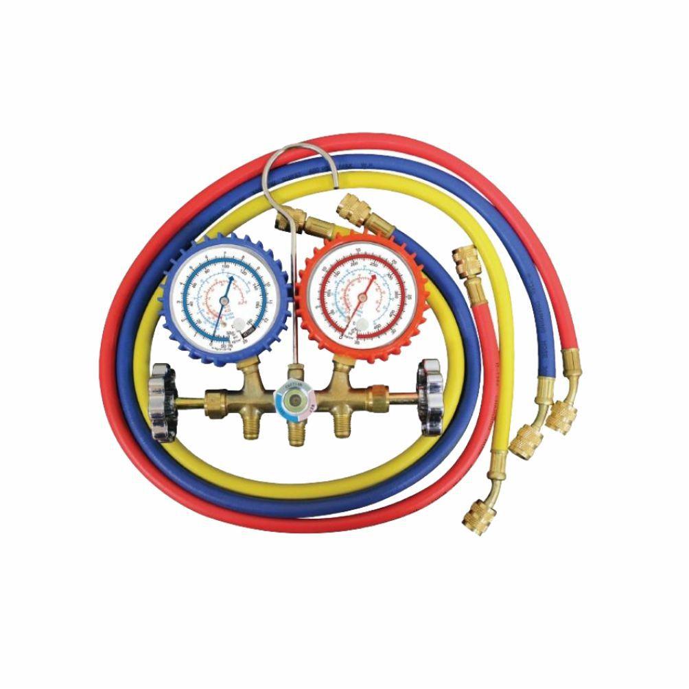 Manifold Gás R12/R22/R134A/R404A Com Visor