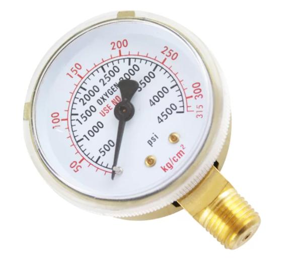 Manómetro para Oxigénio 0/315
