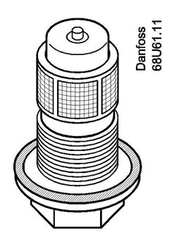 Orifício Danfoss para Válvula n° 05 (TE12)