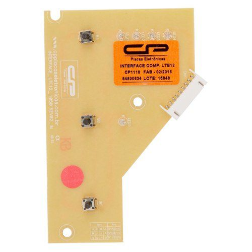 Placa 'Cp Silva' Interface LTE12 Bivolt