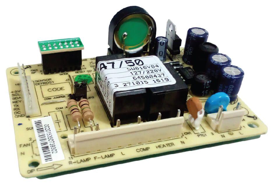 Placa de Potência para Refrigerador Electrolux DF47/50