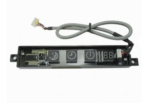 Placa Display Multi-Climatizador Cinza Komeco 110v