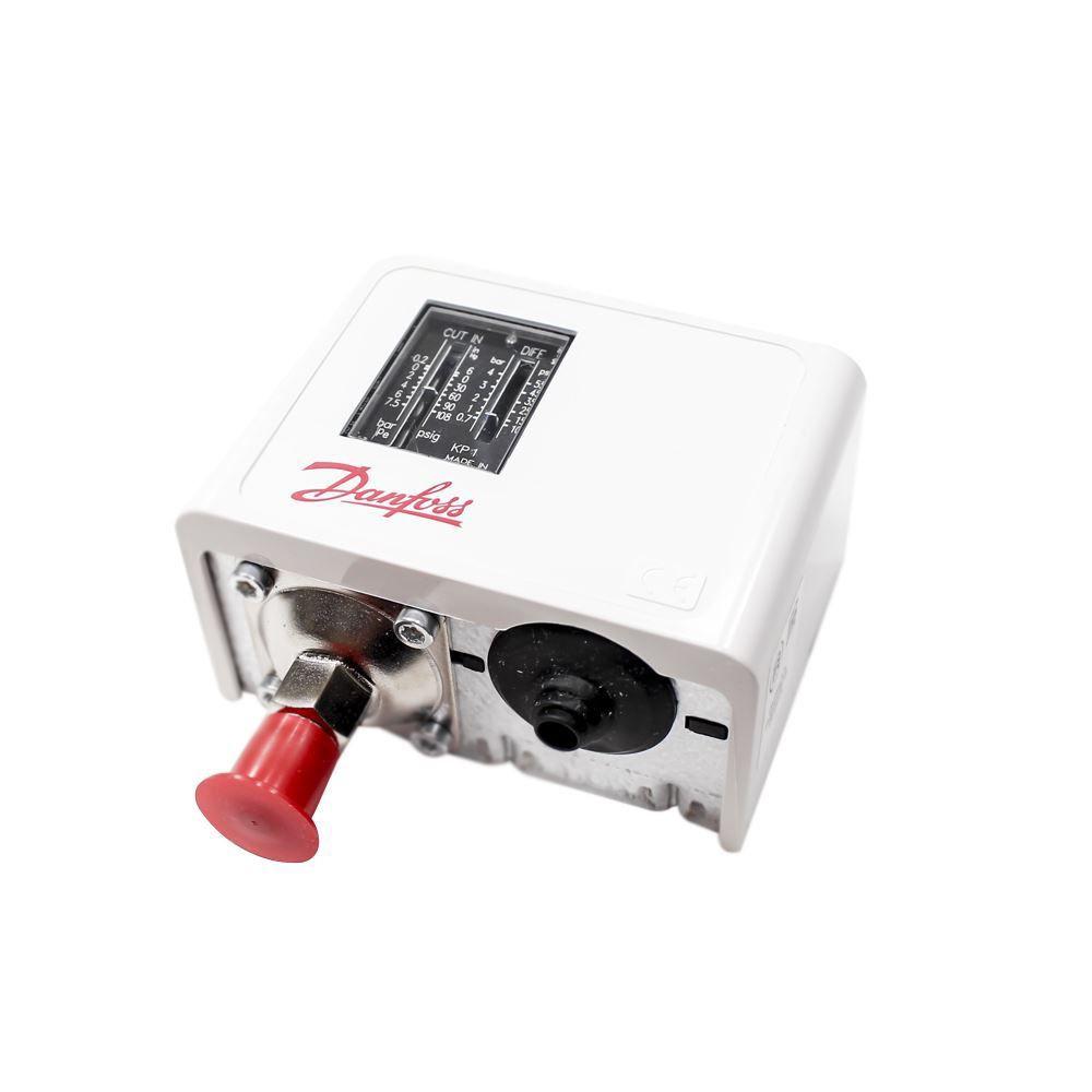 Pressostato de Baixa KP01 Rearme Automático Danfoss