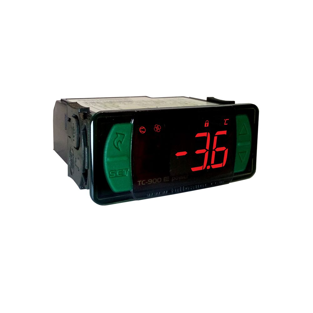 Controlador Digital Full Gauge TC900E/05 POWER TRM/TERM/TIMER 12V/24V