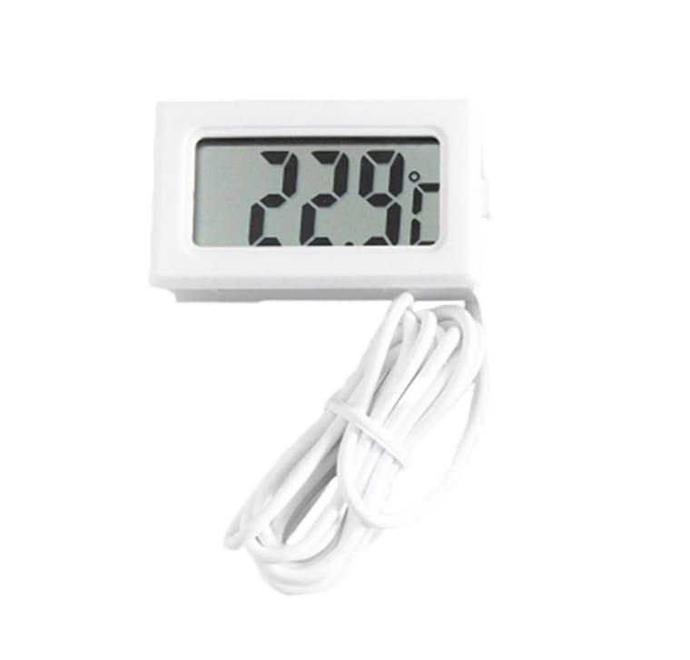Termômetro Digital Branco TPM-10F