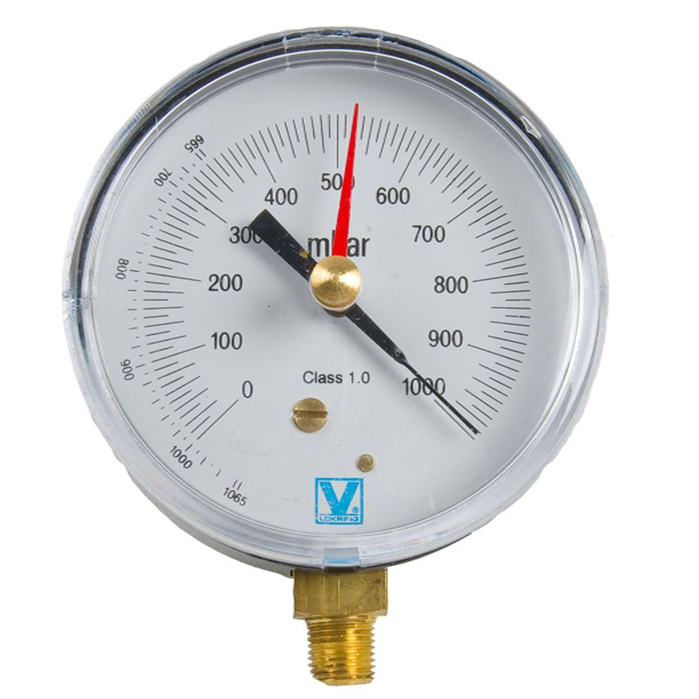 Vacuômetro Analógico V80 Vulkan